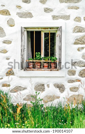 Window of a Farm