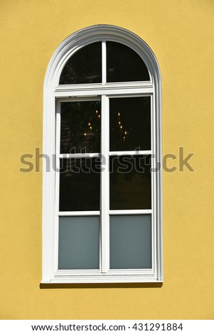 Window of the church building