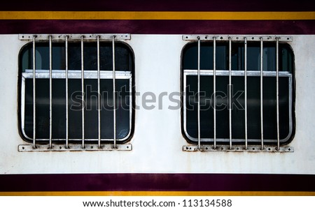 Window of train