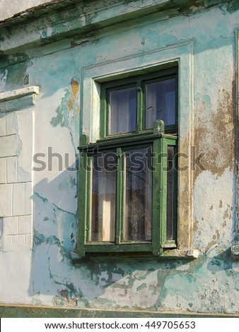 Protruding windows stock images royalty free images vectors shutterstock - The house with protruding windows ...