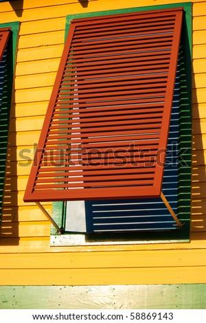 Window Shutter - stock photo