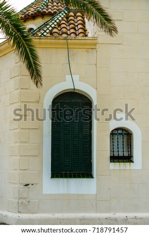European Old Windows Wooden Stock Images RoyaltyFree Images - Building architectural windows