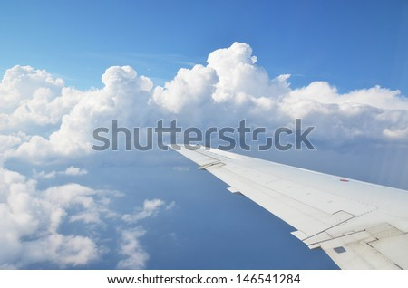 Window view  - stock photo