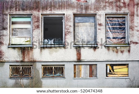 Broken house stock images royalty free images vectors for Classic house beats