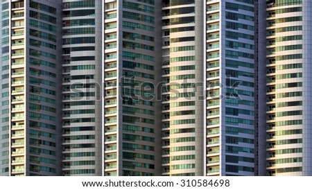 windows building - stock photo