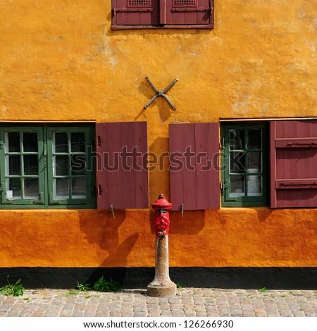 Windows. Denmark - stock photo