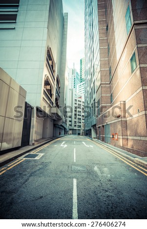 Windows of  modern office buildings, Skyscraper Business Office, Corporate building in Singapore - stock photo
