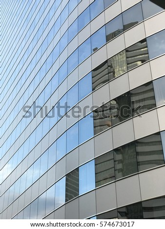windows office building background