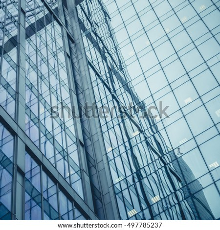 windows office building for background