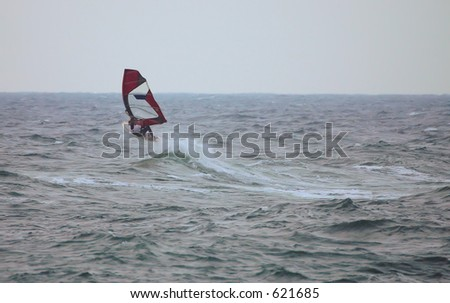 Windsurfer in action3