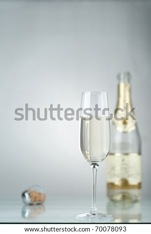 Wine and fuse from a bottle - stock photo
