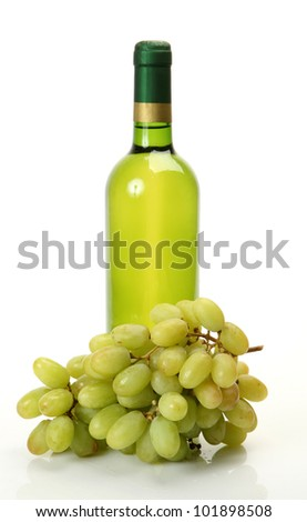 Wine and ripe fruit