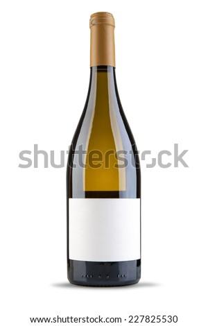 Wine bottle - stock photo