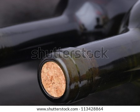 Wine cellar - stock photo