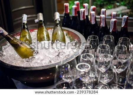 Wine conner - stock photo