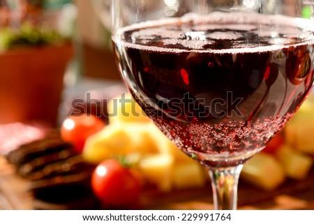 wine great taste - stock photo