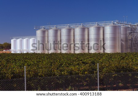 Wine making equipment industrial fermenting reservoir agricultural manufacturing