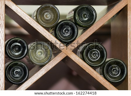 Wine Rack  - stock photo