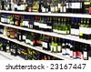 Wine shop - stock photo