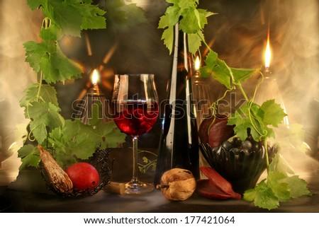 Wine spirits - stock photo