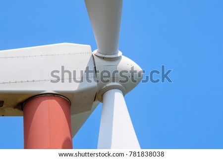 Wing turbine power generator.A green and renewable energy.