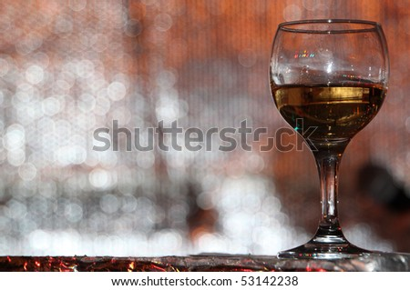 Winglass for different uses - stock photo