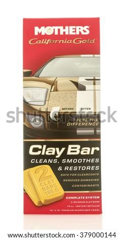 Winneconne, WI - 19 Feb 2016:  Box of Mothers clay bar. - stock photo