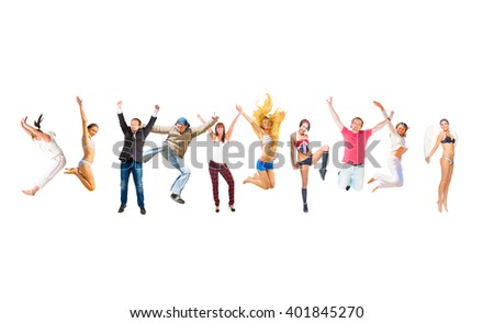 Winning Idea United Colleagues  - stock photo