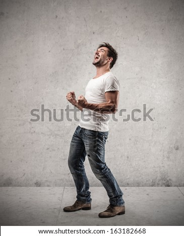 Winning Satisfaction - stock photo