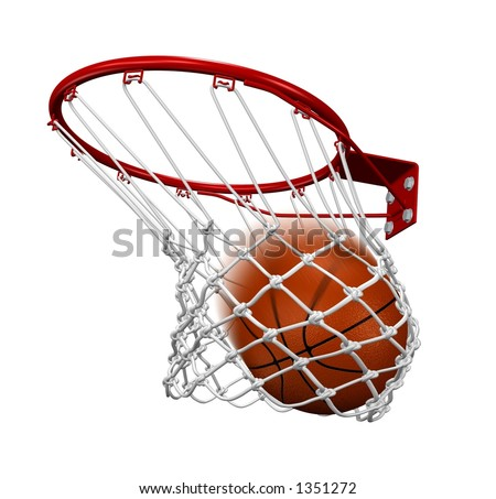 Winning shot - stock photo