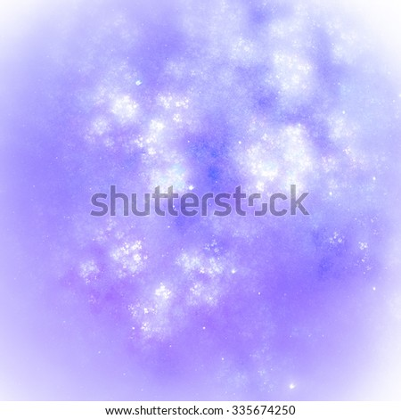 Winter abstract background. Delicate and translucent, it conveys a sense of lightness, freshness, New Year's mood and holidays. Textures create a sense of chaotic applying paint to the canvas.  - stock photo