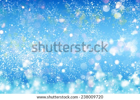 Winter abstract nature background - stock photo