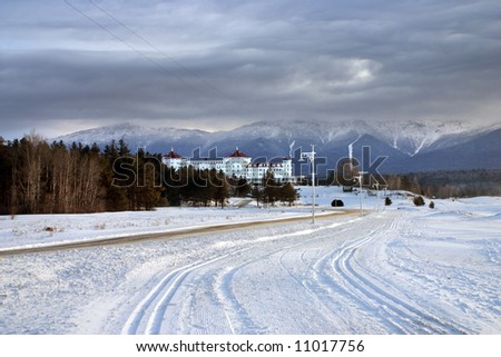 Winter at Bretton Woods, New Hampshire