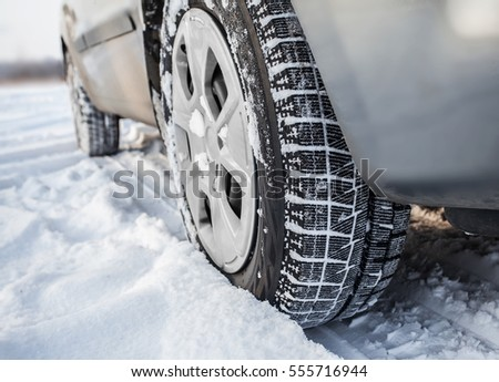 Winter car tyres