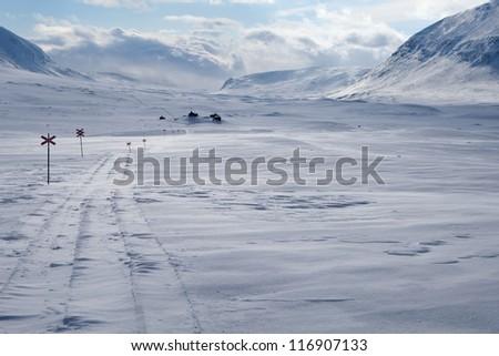 Winter Expedition on the Kungsleden