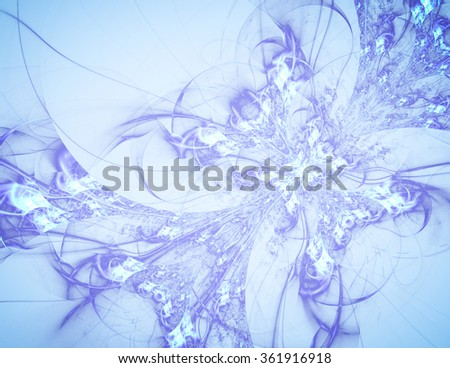 Winter expressive abstract background. Luxury spectacular backdrop. Texture consists of passages of shimmering colors. They had to use the actual colors of the season - azure, turquoise - stock photo