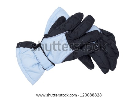 Winter gloves - stock photo