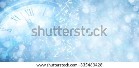 Winter holidays background,New year celebrate. - stock photo