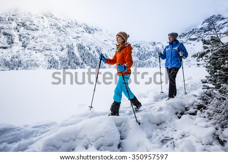 Winter mountain hike - Morskie Oko, Tatra Mountains, Poland