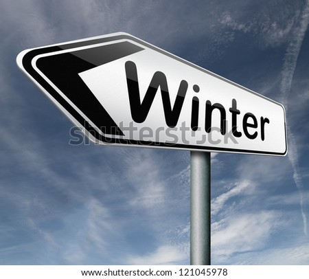 winter season vacation holiday