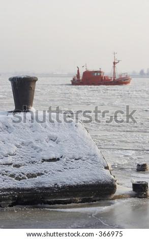 Winter sketches - stock photo