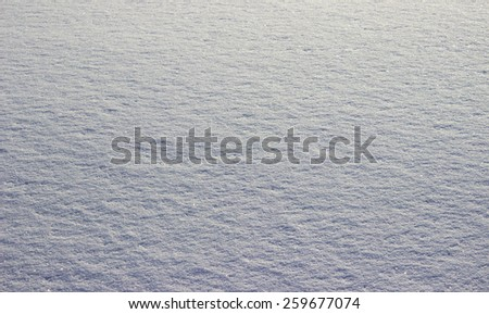 winter snow - stock photo