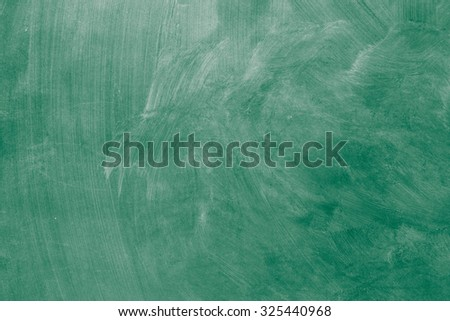 Wiped blank chalkboard texture background