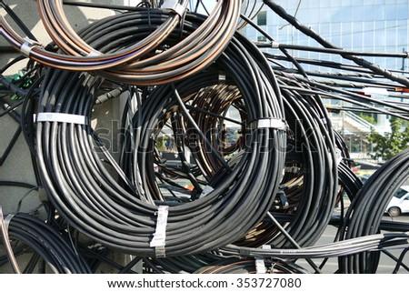 wire - stock photo