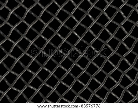 Wire net - stock photo