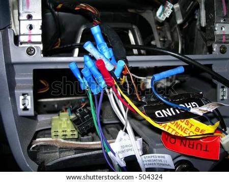 Wire Repair - stock photo