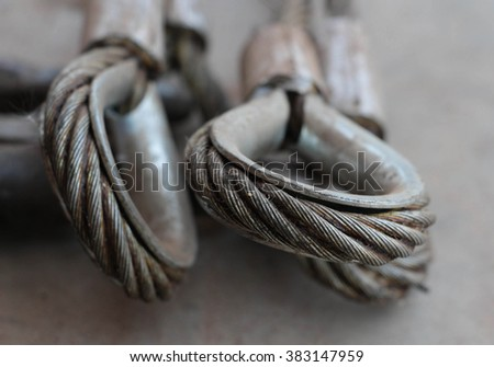 Wire Rope End Termination Stock Photo (Edit Now)- Shutterstock