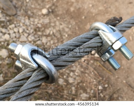 Wired cable - stock photo