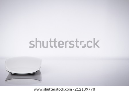 Wireless computer mouse isolated on white