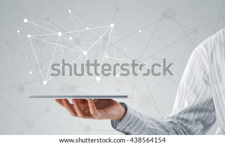 Wireless connection concept - stock photo